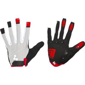 Cube Natural Fit LTD handschoen lange vingers grijs/zwart/rood